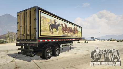 Smokey and the Bandit Trailer для GTA 5