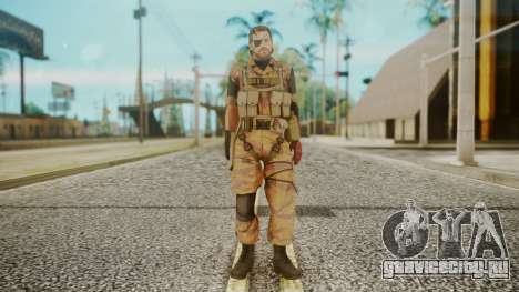 Venom Snake Golden Tiger для GTA San Andreas второй скриншот