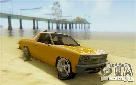 Шеваль Пикадор Серфер для GTA San Andreas вид сверху