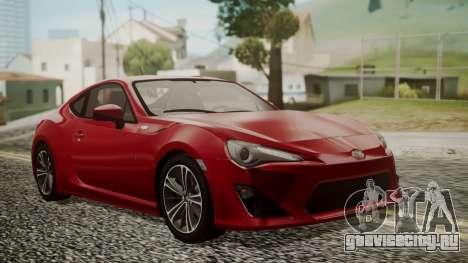 Toyota GT86 2012 LQ для GTA San Andreas