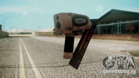 Nail Gun from Resident Evil Outbreak Files для GTA San Andreas второй скриншот