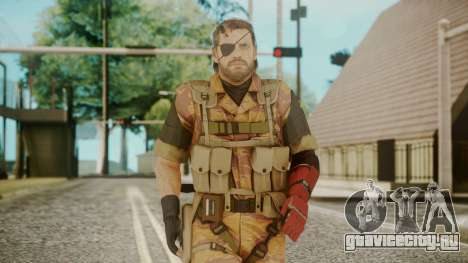 Venom Snake Golden Tiger для GTA San Andreas