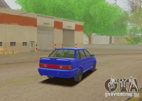 ВАЗ 2115 Сток для GTA San Andreas вид слева