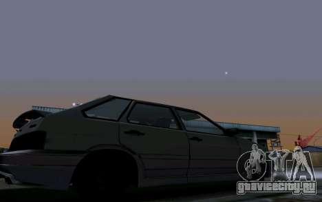 Ваз 2114 Турбо для GTA San Andreas колёса