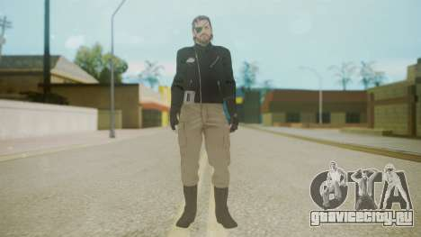 Venom Snake [Jacket] Bast Arm для GTA San Andreas второй скриншот