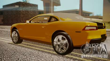 Chevrolet Camaro SS 2015 для GTA San Andreas вид слева