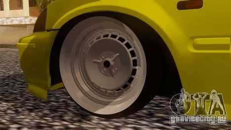 Honda Civic Taxi для GTA San Andreas вид сзади слева