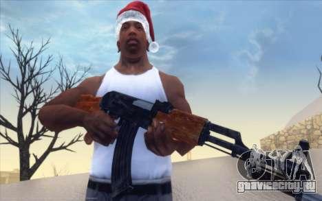 Realistic Weapons Pack для GTA San Andreas второй скриншот