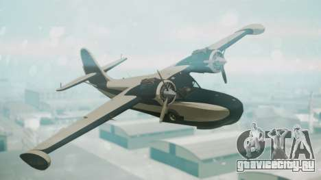 Grumman G-21 Goose Black and White для GTA San Andreas