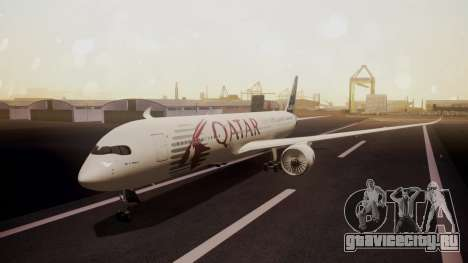 Airbus 350-900XWB Qatar Launch Customer для GTA San Andreas