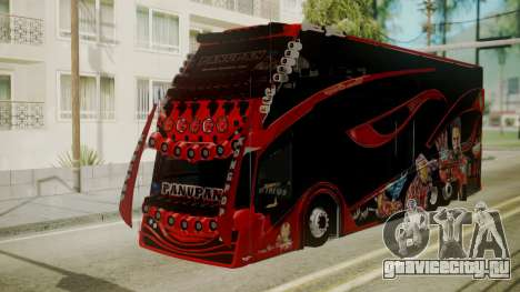Bus Iron Man для GTA San Andreas