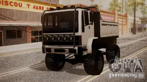 DFT Monster Truck 30 для GTA San Andreas