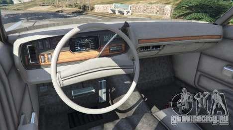 Dodge Polara 1971 v1.0 для GTA 5 вид сзади справа