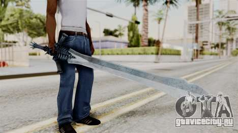 Katana from RE6 для GTA San Andreas