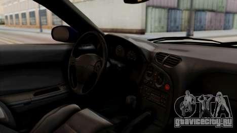 Mazda RX-7 Black Rock Shooter Itasha для GTA San Andreas вид справа