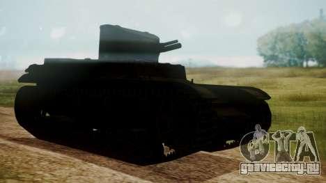 T1 E6 для GTA San Andreas вид слева