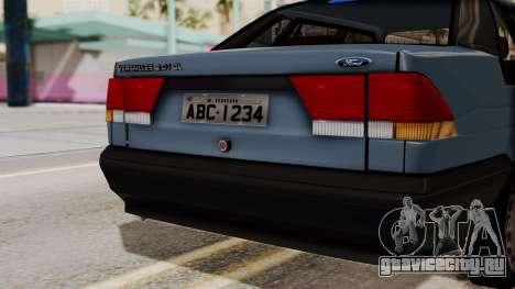Ford Versailles GL 2.0i 1992-1993 для GTA San Andreas вид справа
