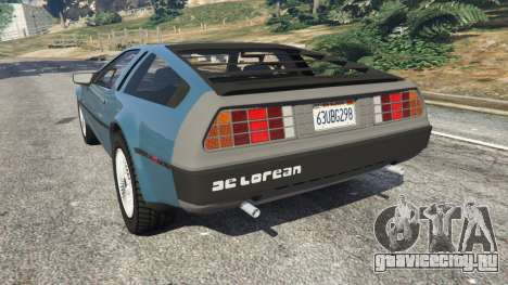 DeLorean DMC-12 v1.2 для GTA 5 вид слева