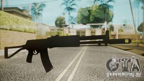 AK-47 by catfromnesbox для GTA San Andreas второй скриншот