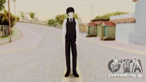 Kaneki Anteiku (Tokyo Ghoul) для GTA San Andreas второй скриншот