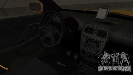 Subaru Impreza WRX GDA для GTA San Andreas вид справа
