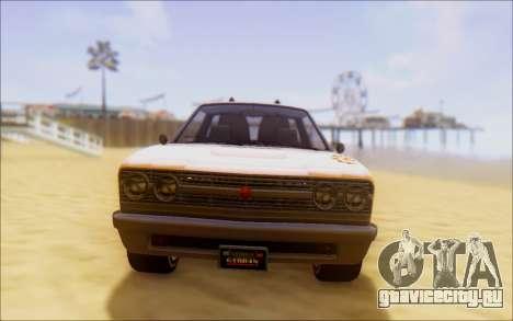Шеваль Пикадор Серфер для GTA San Andreas вид сзади слева