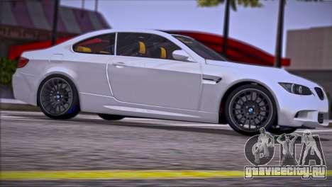 BMW M3 E92 2008 для GTA San Andreas двигатель