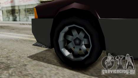 Blista Compact from Vice City Stories для GTA San Andreas вид сзади слева