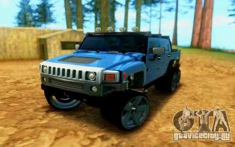 Hummer H6 для GTA San Andreas