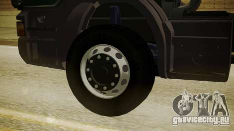 Scania P420 для GTA San Andreas вид сзади слева