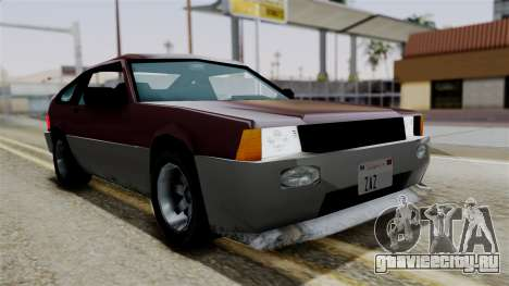 Blista Compact from Vice City Stories для GTA San Andreas вид справа