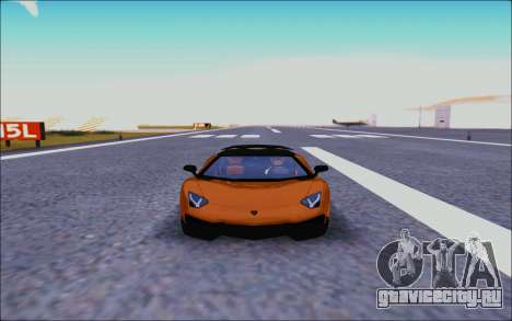 Lamborghini Aventador MV.1 [IVF] для GTA San Andreas вид изнутри