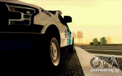 Ford F150 2015 Towtruck для GTA San Andreas вид сбоку