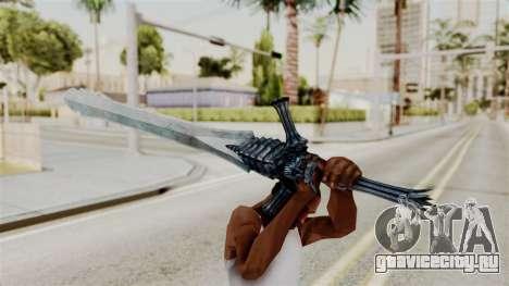 Katana from RE6 для GTA San Andreas третий скриншот