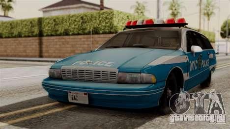 Chevy Caprice Station Wagon 1993-1996 NYPD для GTA San Andreas
