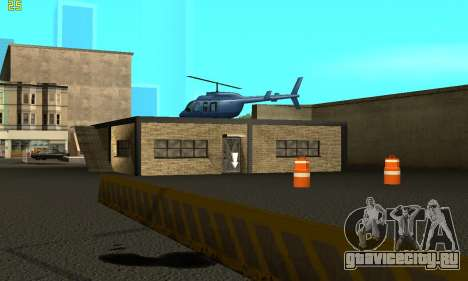 Замена текстур АвтоШколы для GTA San Andreas второй скриншот
