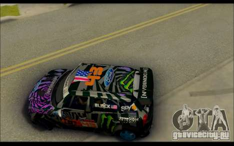 Mini Cooper Gymkhana 6 with Drift Handling для GTA San Andreas вид справа