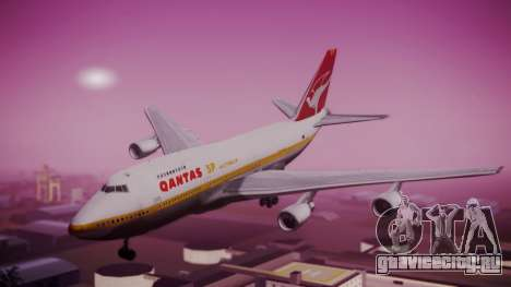 Boeing 747SP Qantas Gold для GTA San Andreas