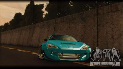 Toyota GT86 Customs Rocket Bunny для GTA San Andreas вид слева