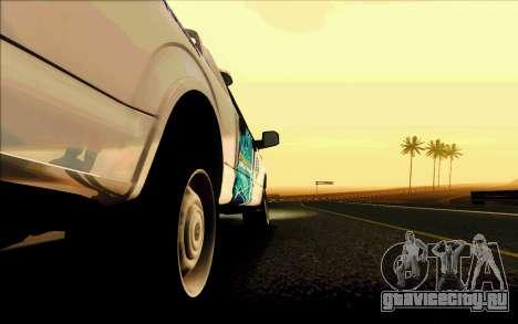 Ford F150 2015 Towtruck для GTA San Andreas салон