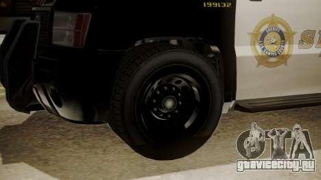 GTA 5 Declasse Granger Sheriff SUV для GTA San Andreas вид справа