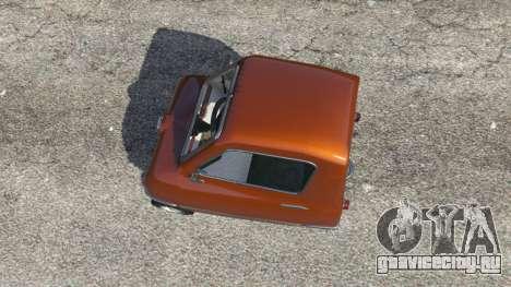 Peel P50 для GTA 5 вид сзади справа