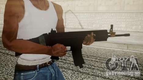 SCAR-L Battlefield 3 для GTA San Andreas третий скриншот