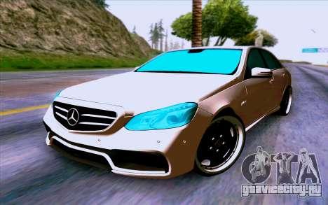 Mercedes-Benz E63 AMG для GTA San Andreas