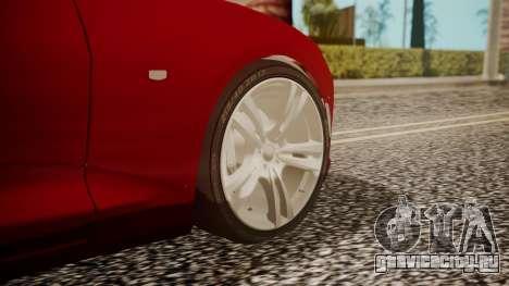 Chevrolet Camaro SS 2016 для GTA San Andreas вид сзади слева