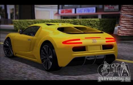 Adder from GTA 5 для GTA San Andreas вид слева