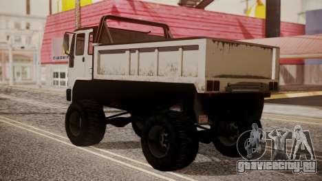 DFT Monster Truck 30 для GTA San Andreas вид слева