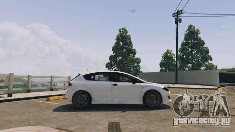 Seat Leon 2010 [BETA] v1.0 для GTA 5