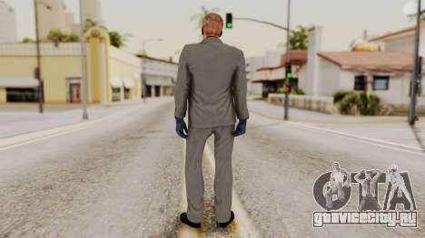 Payday 2 Sokol No Mask для GTA San Andreas третий скриншот