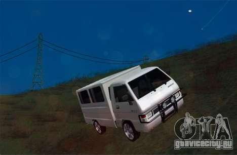Mitsubishi L300 FB Van для GTA San Andreas